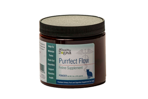 Healthy Dogma Purrfect Flow Urinary Tract & Digestion Supplement for Cats 8oz Jar