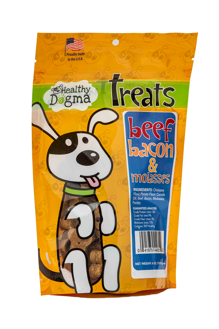 Beef, Bacon, and Molasses Bones 6oz Bag Grain Free
