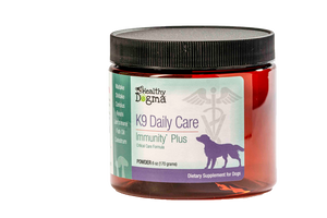 Healthy Dogma K9 Daily Care Immunity Plus Dog Supplement 6oz Jar