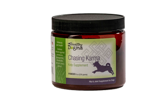 Healthy Dogma Chasing Karma Canine Supplement 8oz Jar