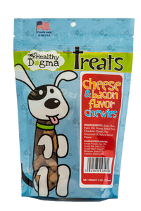 Cheese and Bacon Flavor Chewies 6oz Bag