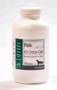 Healthy Dogma K9 Critical Care Canine Supplement 180 Count Bottle