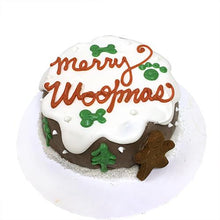 Load image into Gallery viewer, Merry Woofmas Cake (Personalized) (Perishable)