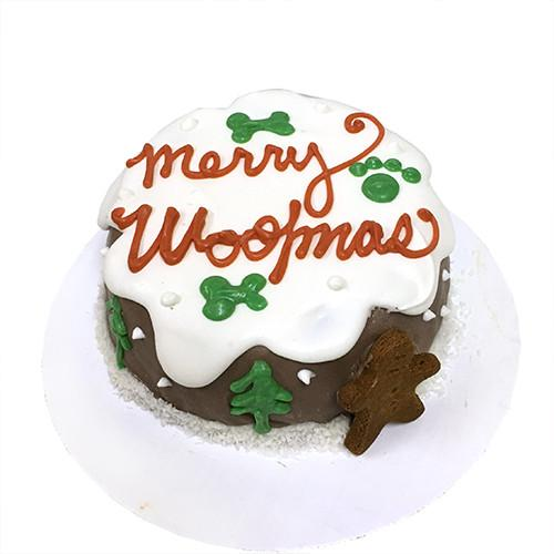 Merry Woofmas Cake (Personalized) (Perishable)