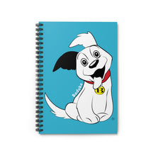 Load image into Gallery viewer, Baduko wags his Tail! Spiral Notebook