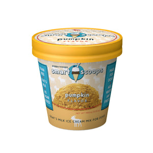 No sugar added and nutrient packed goat's milk ice cream mix for dogs.