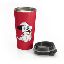 Load image into Gallery viewer, Baduko Stainless Steel Travel Mug Red