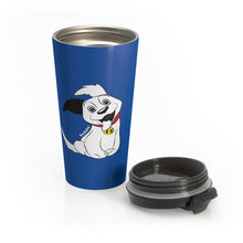 Load image into Gallery viewer, Baduko Stainless Steel Travel Mug Blue