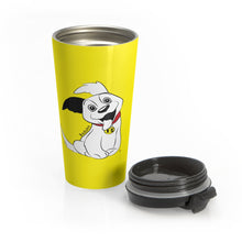 Load image into Gallery viewer, Baduko Stainless Steel Travel Mug Yellow