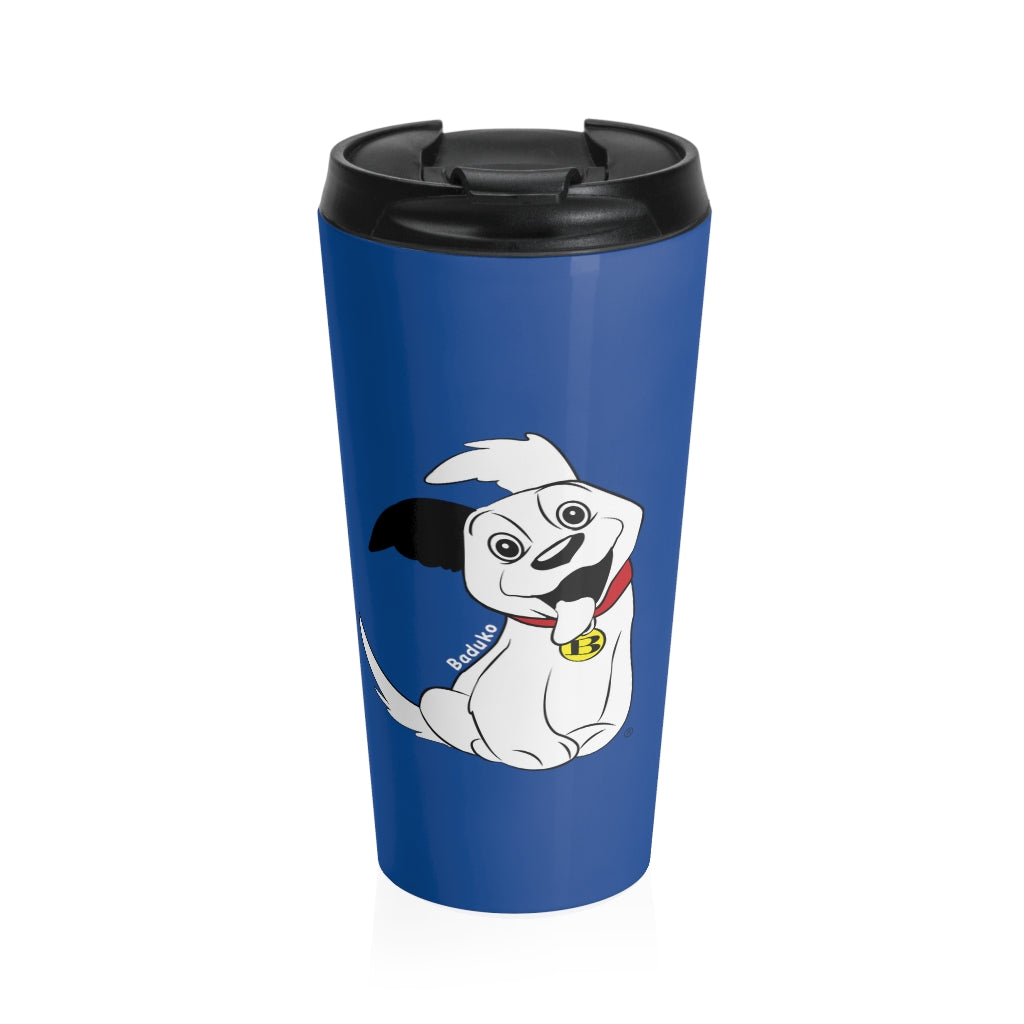 Baduko Stainless Steel Travel Mug Blue