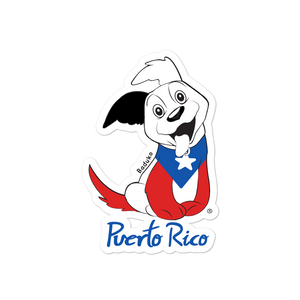 Proud from Puerto Rico stickers