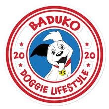 Load image into Gallery viewer, Baduko Doggie Lifestyle stickers