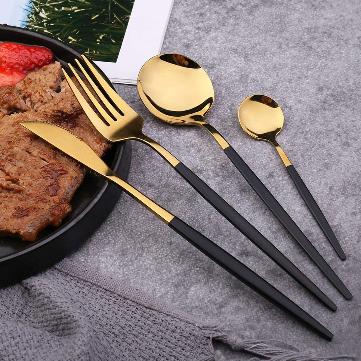 4pcs Cutlery Set