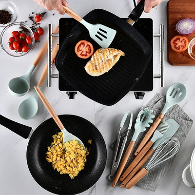 12pcs Non-Stick Utensils