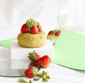 Strawberry Matcha Twirl