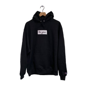 be you. Box Logo Hoodie
