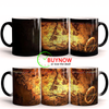 The Lord Of Rings Map Mug Color Changing