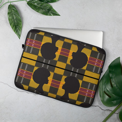 Afro African Print Laptop Sleeve YaYa+Rule