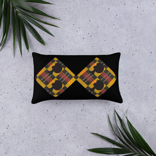 Afro African Print Pillow YaYa+Rule
