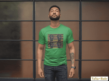 Load image into Gallery viewer, Black Power Kente Color Short-Sleeve Unisex T-Shirt YaYa+Rule