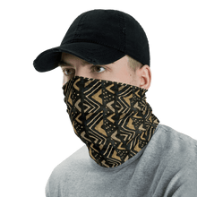 Load image into Gallery viewer, Bogolan African Print Neck Gaiter YaYa+Rule