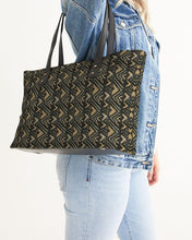 Load image into Gallery viewer, Brown Bogolan African Print Stylish Tote YaYa+Rule