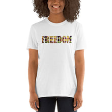 Load image into Gallery viewer, Freedom African Print Short-Sleeve Unisex T-Shirt YaYa+Rule