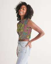 Load image into Gallery viewer, Fun African Print Women's Twist-Front Tank YaYa+Rule