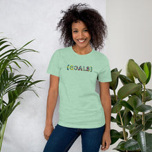Load image into Gallery viewer, Goals African Print Color Short-Sleeve Unisex T-Shirt YaYa+Rule