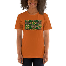 Load image into Gallery viewer, Green African Print Color Short-Sleeve Unisex T-Shirt YaYa+Rule