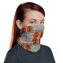 Load image into Gallery viewer, Gye Nyame African Print Neck Gaiter YaYa+Rule