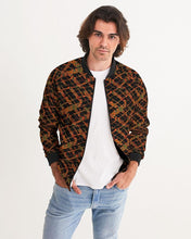 Load image into Gallery viewer, Kente Crossing African Print Men's Bomber Jacket YaYa+Rule