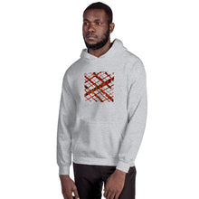 Load image into Gallery viewer, Kente Crossing African Print Unisex Hoodie YaYa+Rule