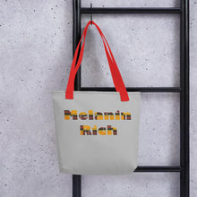 Load image into Gallery viewer, Melanin Rich African Print Tote bag YaYa+Rule