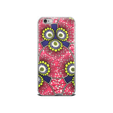 Load image into Gallery viewer, Pink African Print  iPhone Case YaYa+Rule