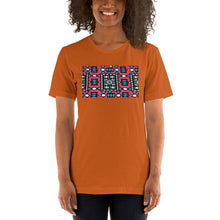 Load image into Gallery viewer, Pink African Print Color Short-Sleeve Unisex T-Shirt YaYa+Rule
