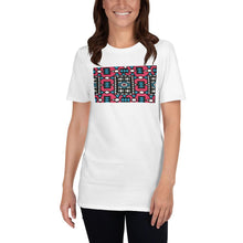 Load image into Gallery viewer, Pink African Print Short-Sleeve Unisex T-Shirt YaYa+Rule