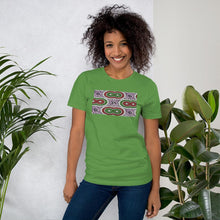 Load image into Gallery viewer, Purple African Print Color Short-Sleeve Unisex T-Shirt YaYa+Rule