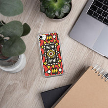 Load image into Gallery viewer, Red African Print iPhone Case YaYa+Rule
