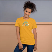 Load image into Gallery viewer, Rise African Print Color Short-Sleeve Unisex T-Shirt YaYa+Rule