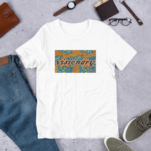 Load image into Gallery viewer, Visionary African Print Color Short-Sleeve Unisex T-Shirt YaYa+Rule
