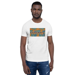 Visionary African Print Color Short-Sleeve Unisex T-Shirt YaYa+Rule