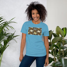 Load image into Gallery viewer, Yellow African Print Color Short-Sleeve Unisex T-Shirt YaYa+Rule