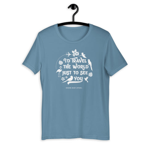 I'll Travel The World Unisex T-Shirt