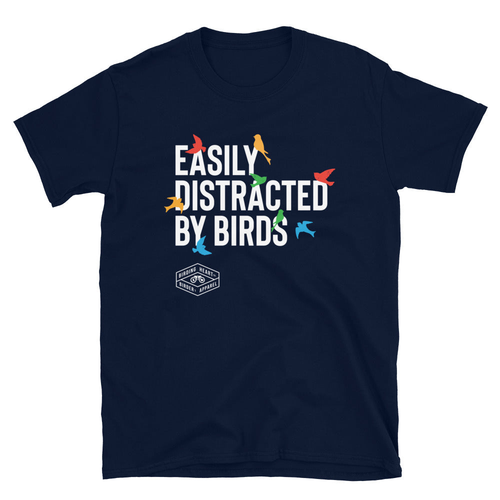 Easily Distracted By Birds Tee