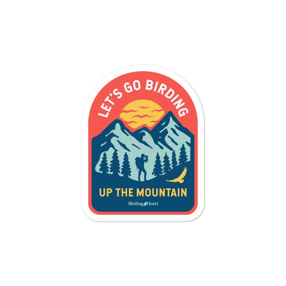 Mountain Birding Stickers