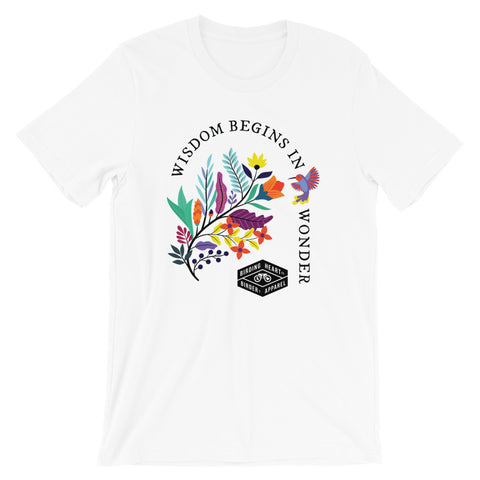 Wisdom Begins in Wonder Tee
