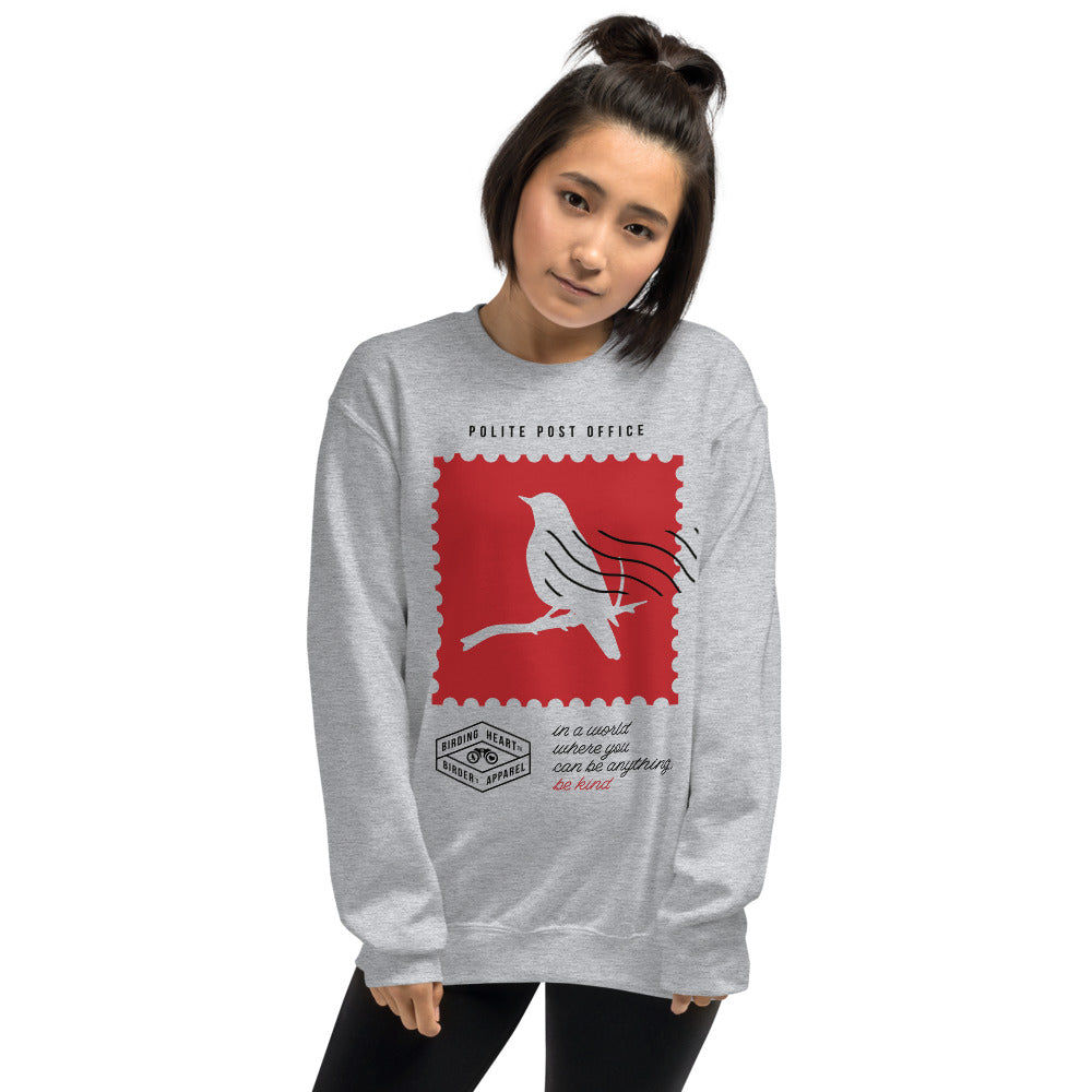 Be Kind Postage Stamp Sweatshirt
