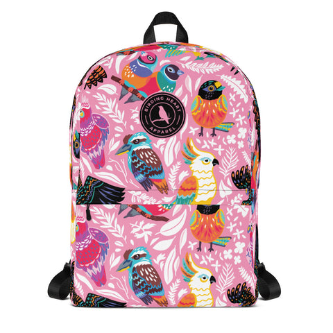 Happy Feathers Backpack