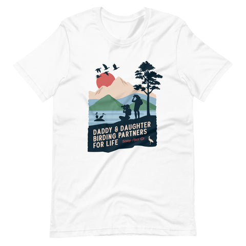 Daddy & Daughter Birding Partners Unisex Tee